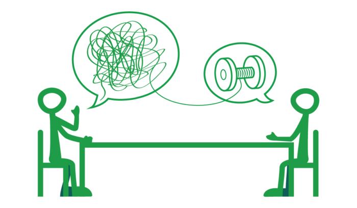 desenrolando a conversa na terapia
